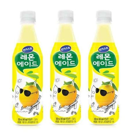 (현대Hmall)[해태음료] 썬키스트 레몬에이드 350ml x 24개