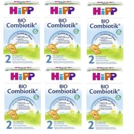 [해외배송] [HIPP] 분유 바이오 콤비오틱 2단계 6통 세트