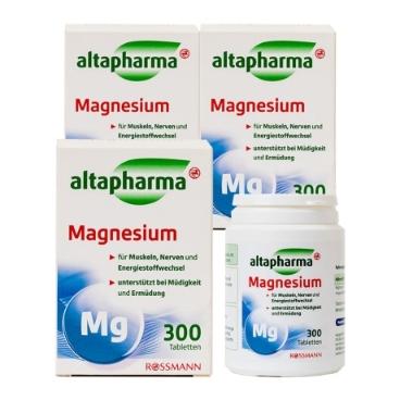 알타파마 마그네슘 300정 x3개 묶음