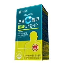 종근당건강 프로메가 혈행트리플케어950mg x 30캡슐