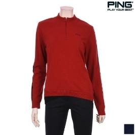 (핑)여성 라인 배색 소매 방풍 스웨터_12184SN173