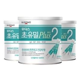 [원더배송] 후디스 초유밀플러스 100g 2단계 3캔