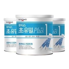 [원더배송] 후디스 초유밀플러스 100g 1단계 3캔