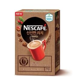 [원더배송] 네스카페 신선한 리치 커피 110T