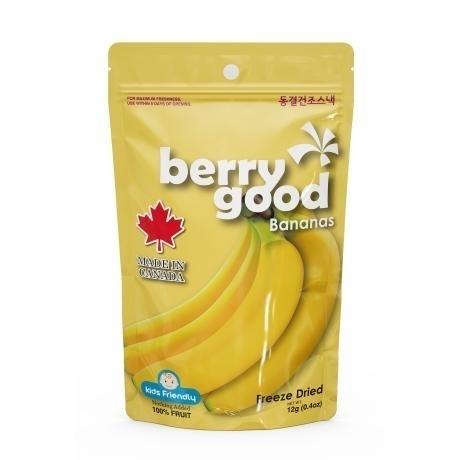 동결건조 과일칩 베리굿 12g X 8봉 (바나나3팩+블루베리3팩+딸기2팩)