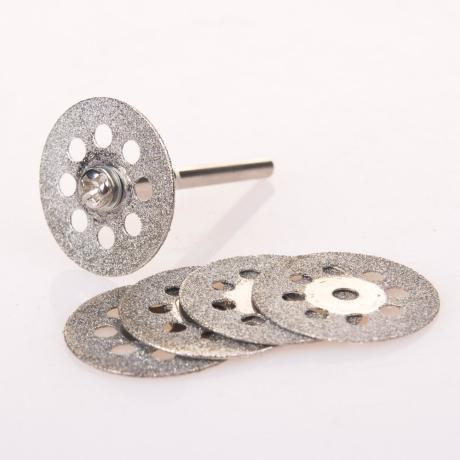 조각기 액세서리 드레멜 악세사리 다이아몬드 커팅휠세트 6P