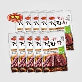 [원더배송] 머거본 달콤직화육포x30봉