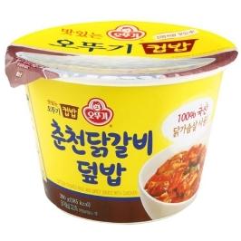 오뚜기 맛있는 컵밥 춘천닭갈비덮밥 280G 3개