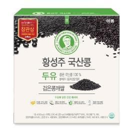 [원더배송] 이롬 황성주 검은콩깨쌀 두유 190ml X 16