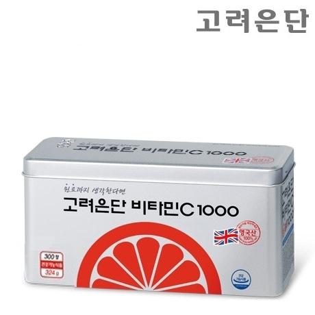 고려은단 비타민C 1000 300정/10개월분/쇼핑백 증정