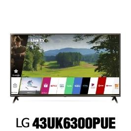 LG전자 43UK6300 (43UK6300PUE) 2018년 신상품 4K HDR 스마트 LED UHD 씽큐 AI 43인치 티비