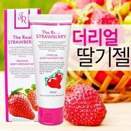 [싸고빠르다] 더리얼 딸기 바디마사지 젤 100ml