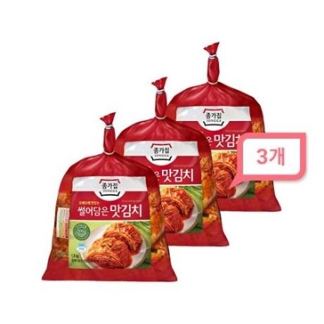 [대상] 대상 종가집 썰어담은 맛김치 1.9kgx3개