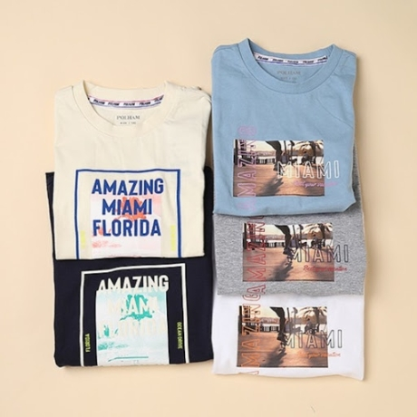 [폴햄키즈] 공용_그래픽 반팔 티셔츠 (PKZ2TR1050)