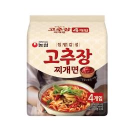[원더배송] 농심 집밥감성 고추장찌개면 140g 32봉