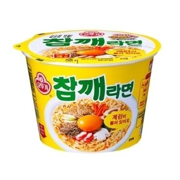 [더싸다특가] 오뚜기 참깨라면 컵라면(용기) 110g 6개