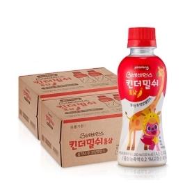 베비언스 핑크퐁 킨더밀쉬 홍삼(200ml) 48입