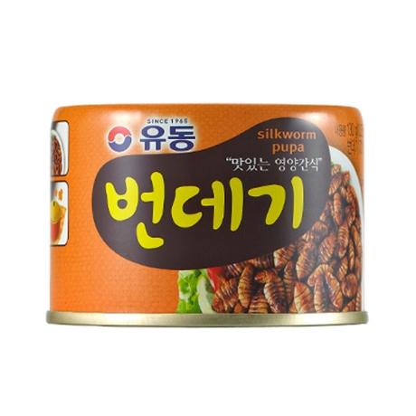 유동 번데기 130g x48캔 /골뱅이/안주/간식/무침/동원