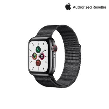 Apple 애플워치 5 44mm GPS+셀룰러 스테인리스 스틸 케이스 +밀레니즈 루프