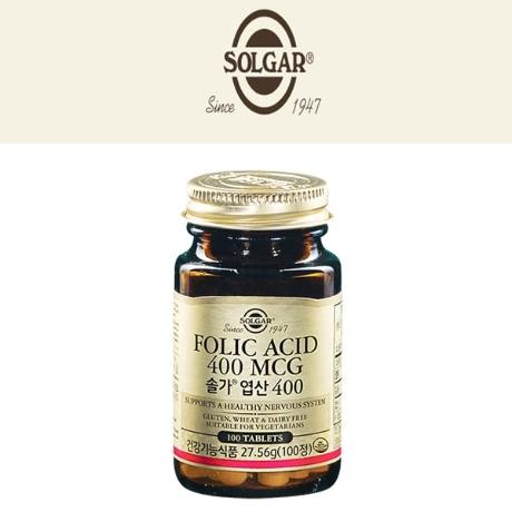 [솔가] [솔가]엽산 400(275.6g)100정 임산부영양제