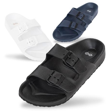 NEW 버클 슬리퍼 발편한 여름 커플 신발 푹신한 여성 남성 신발