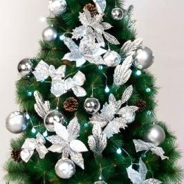 [텐바이텐] 크리스마스 트리장식 풀세트 49PCS [실버]_(11907066)