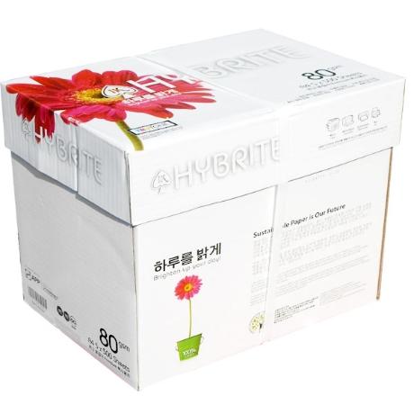 하이브라이트 A4 80g 1BOX 2500매/A4용지/복사지