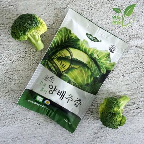 국내산 유기농 브로콜리 양배추즙 110ml X 30포