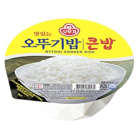 [오뚜기]오뚜기밥 큰밥 300gx18개입