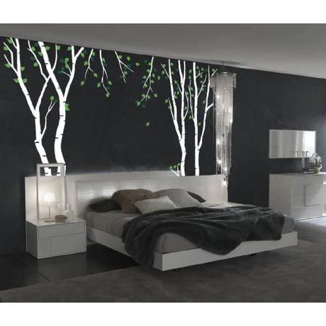 [해외] 혁신적인 스텐실 큰 벽 자작 나무 트리 데칼 숲 아이
