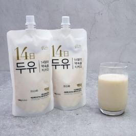 [무료배송] 잔다리마을 14일 두유 백태 180g x 10개입 (1박스)
