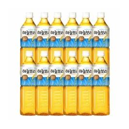 웅진 하늘보리 음료 1L 12펫
