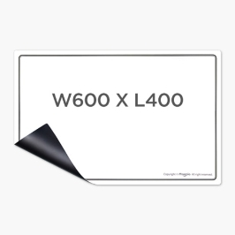 마그피아 고무자석 화이트보드(600X400) MRMB-WB6040