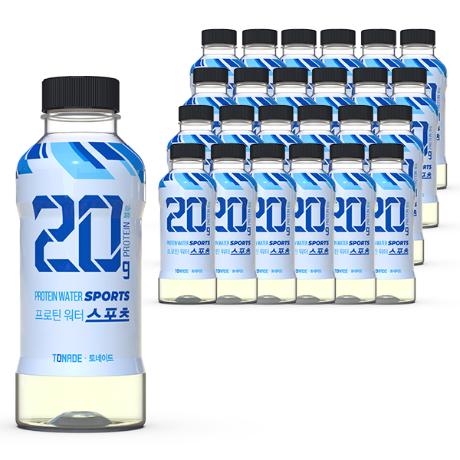 [토네이드] 토네이드 프로틴워터 WPI 단백질 20g 블루 6개입