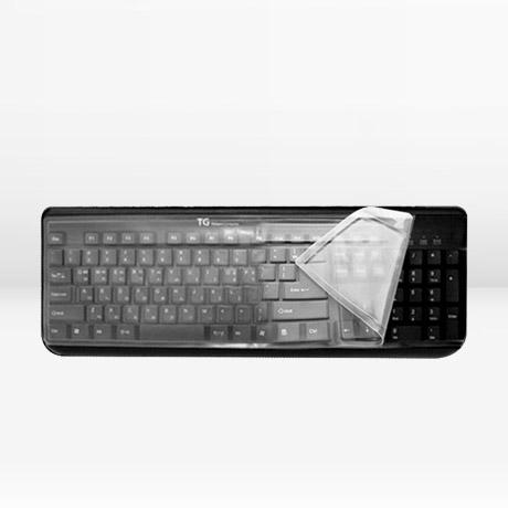 [전제품호환] 멀티 키보드 키스킨 덮개 스킨 옷 방수 커버 덥개 만능 실리콘 삼성 LG 아이락스