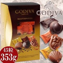 발렌타인한정/ GODIVA 초콜릿/고디바 마스터피스 쉐어링 팩 45개입/3종의 고디바 풍미의 초코릿을 선물하세요/수량한정