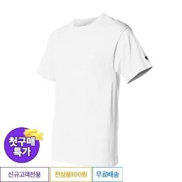 [첫구매특가] 챔피온 베이직 반팔티 T425 화이트