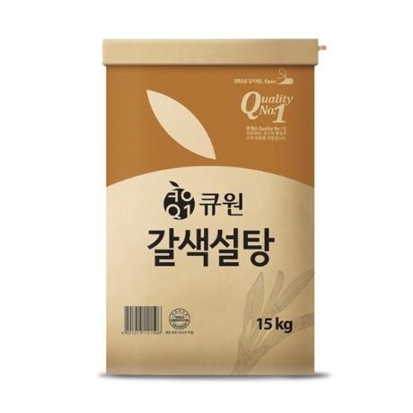 큐원 황설탕15kg 갈색설탕
