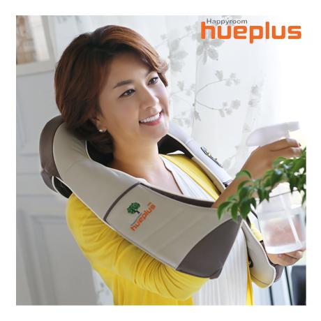 휴플러스 3D텐션 무선 목 어깨 안마기 HPM-5000