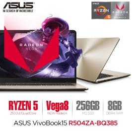 [최종혜택가 505,470] (만족도UP~ 최상의 퀄리티!) ASUS 비보북 R504ZA-BQ385 라이젠 노트북