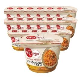 [원더배송] CJ 햇반 컵반 옐로우크림커리덮밥 280g x 18개