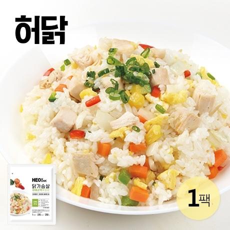 [갓신선] 허닭 닭가슴살 야채 곤약 볶음밥 250g 1팩