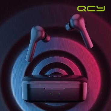 QCY-T5 TWS 블루투스 무선 이어폰-블랙/무료배송