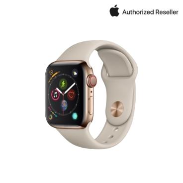Apple 애플워치 4 40mm GPS+ 셀룰러 스테인리스 스틸 케이스