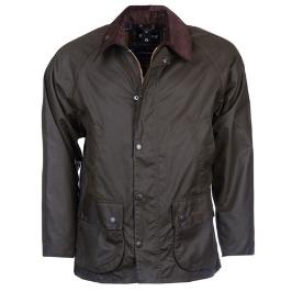 바버 Classic Bedale Wax Jacket_Olive