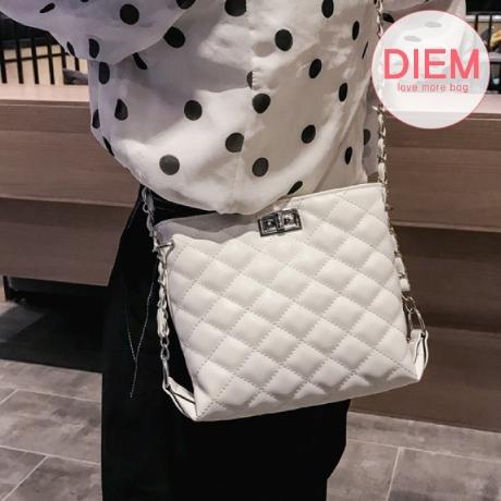디엠 버클퀼팅백 db408 (원가이하판매 반품불가)