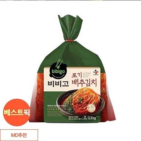 비비고 포기배추김치 3.3kg / 비비고김치 포기김치
