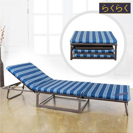 라꾸라꾸 15탄 레저 플러스 접이식 침대 (싱글) CBK-015