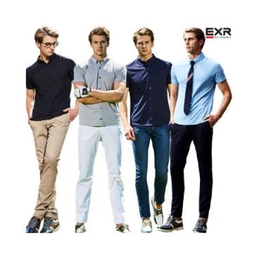 (현대홈쇼핑)[EXR] 남성 쿨 이지 셔츠 4종 택1