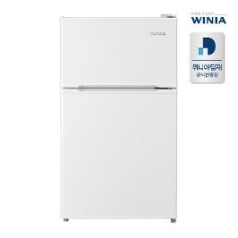 공식인증점 위니아 소형냉장고 2룸 87L WRT087BW 화이트 전국무료배송설치